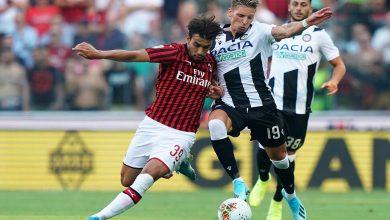 ميلان يسقط في الاختبار الأول بالدوري الإيطالي أمام أودينيزي