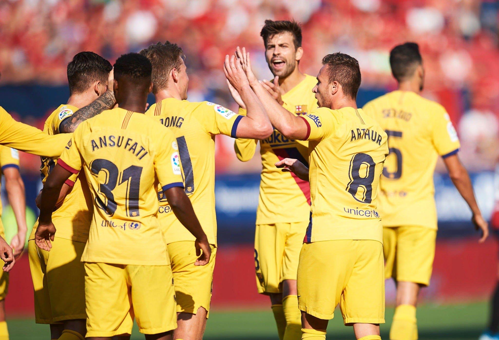 برشلونة واساسونا