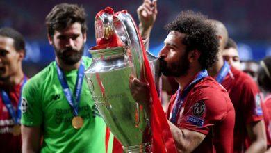 استبعاد محمد صلاح من القائمة النهائية للأفضل في دوري أبطال أوروبا