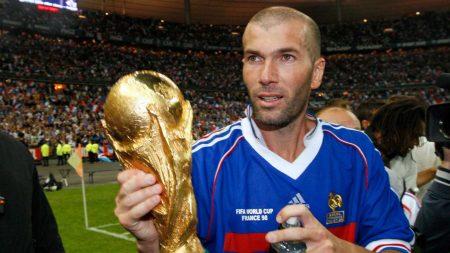 زين الدين زيدان - كأس العالم 98