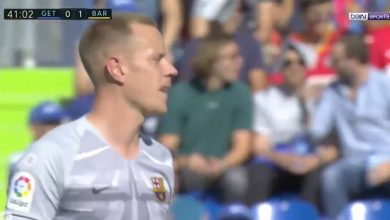 صورة أهداف مباراة برشلونة وخيتافي (2-0) .. الدوري الإسباني