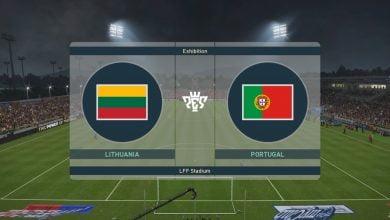 ليتوانيا × البرتغال