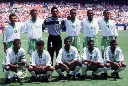 منتخب السعودية 1994