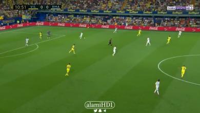 صورة هدف فياريال الأول في مرمى ريال مدريد .. تعليق رؤوف خليف