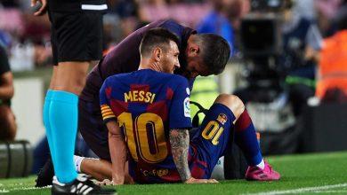 بيان رسمي من برشلونة يكشف حجم إصابة ميسي