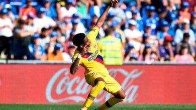 صورة ملخص مباراة برشلونة 2-0 خيتافي في الدوري الإسباني