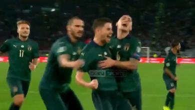 Photo of هدف ايطاليا الاول في مرمى اليونان.. تصفيات امم اوروبا