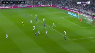 صورة هدف برشلونة الثاني في مرمى بلد الوليد (2-1).. أسيست خيالي من ميسي