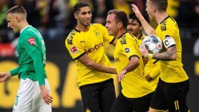 Photo of الدوري الألماني| دورتموند يفلت من السقوط في عقر داره ويتعادل أمام بادربورن