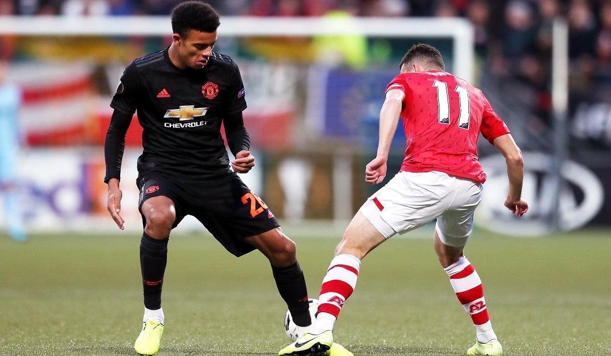الدوري الأوروبي  التعادل السلبي يحسم مواجهة مانشستر يونايتد وألكمار