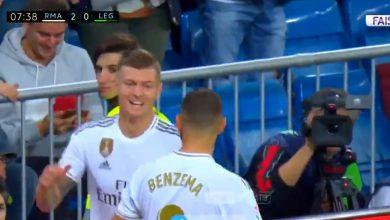 صورة هدف ريال مدريد الثاني في مرمى ليغانيس (2-0).. الدوري الاسباني