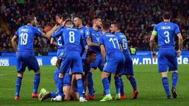 التشكيل الرسمي لإيطاليا في مواجهة اليونان بتصفيات اليورو
