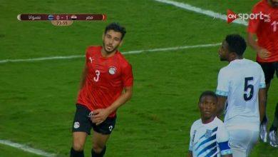 صورة ملخص مباراة مصر وبتسوانا (1-0) .. مباراة ودية