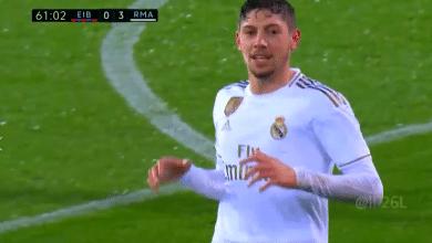 صورة هدف ريال مدريد الرابع في مرمى ايبار (4-0) الدوري الاسباني