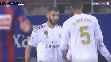 Photo of هدف كريم بنزيما الثاني أمام ايبار (3-0) الدوري الاسباني