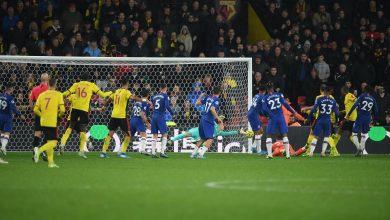 صورة اهداف مباراة تشيلسي وواتفورد (2-1) الدوري الانجليزي