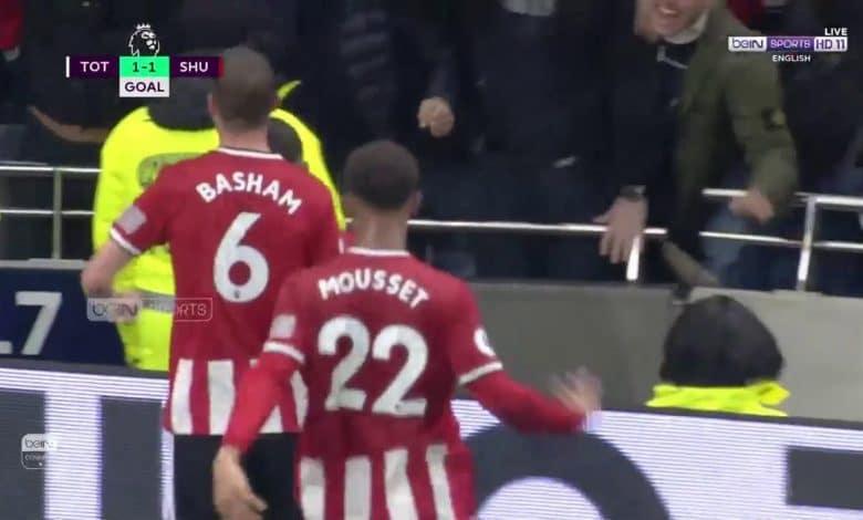 Photo of هدف تعادل شيفيلد يونايتد امام توتنهام (1-1) الدوري الانجليزي