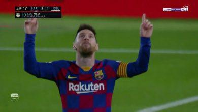 """صورة هدف ميسي الثالث """"العالمي"""" في مرمى سيلتا فيغو (3-1).. تعليق عصام الشوالي"""