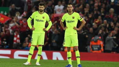صدمة لاعبي برشلونة