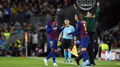 صورة عاجل ورسمياً.. برشلونة يوضح طبيعة إصابة ديمبلي