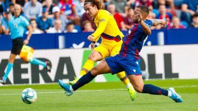 الدوري الإسباني| ليفانتي يقلب الطاولة على برشلونة في 7 دقائق