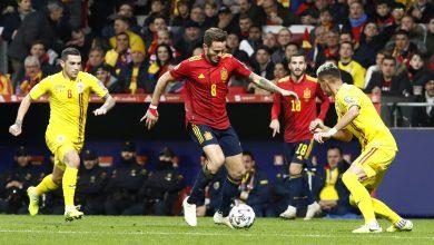 اسبانيا ورومانيا