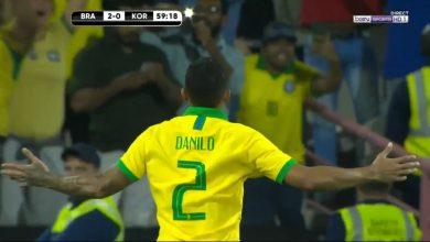 صورة اهداف مباراة البرازيل وكوريا الجنوبية (3-0) مباراة ودية