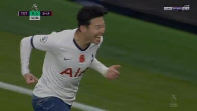 صورة اهداف مباراة توتنهام وشيفيلد يونايتد (1-1) الدوري الانجليزي