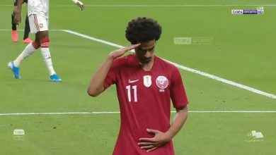 Photo of اهداف الشوط الأول: قطر والامارات (2-1) تعليق عصام الشوالي