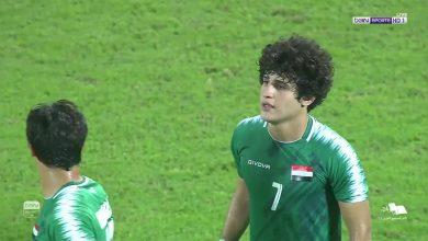 صورة اهداف مباراة العراق والبحرين (2-2) خليجي 24