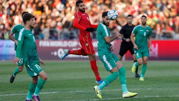 منتخب العراق ومنتخب البحرين