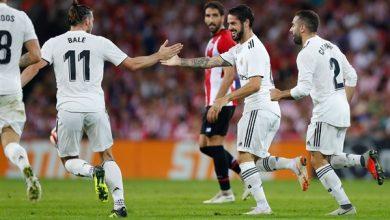 صورة ريال مدريد لا يعرف الهزيمة أمام اتلتيك بلباو على ملعب سانتياجو برنابيو