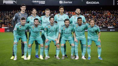 صورة التشكيل المتوقع لنادي ريال مدريد أمام اتلتيك بلباو