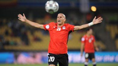 Photo of وائل جمعة يشارك في مباراة أساطير أفريقيا