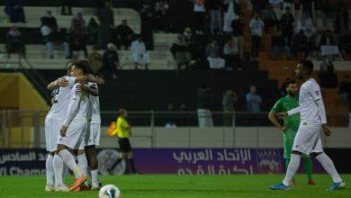 صورة كأس محمد السادس للاندية الابطال   الشباب السعودي يسحق الشرطة العراقي بسداسية بيضاء