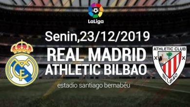 صورة موعد مباراة ريال مدريد واتلتيك بلباو والقنوات الناقلة
