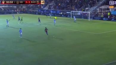Photo of هدف برشلونة الثاني في مرمى ايبيزا (1-2) كأس ملك اسبانيا