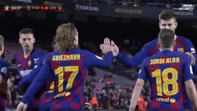 صورة اهداف مباراة برشلونة وليغانيس (5-0) تعليق فارس عوض