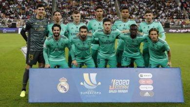 Photo of عاجل.. تشكيلة ريال مدريد الرسمية أمام سرقسطة في كأس ملك إسبانيا