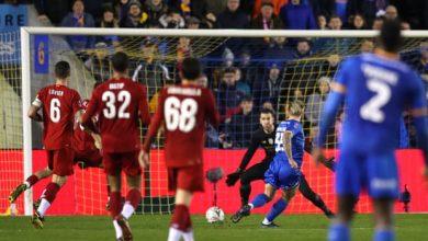 صورة كأس الاتحاد الإنجليزي.. ليفربول يسقط في فخ التعادل مع شروسبري