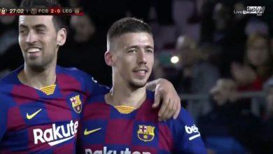 صورة ملخص مباراة برشلونة وليغانيس بتعليق فارس عوض