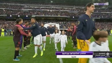 Photo of ممر شرفي للاعبي ريال مدريد قبل مباراة إشبيلية