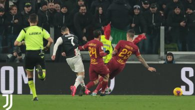 Photo of كأس إيطاليا | يوفنتوس يفوز على روما بثلاثية ويتأهل لنصف النهائي