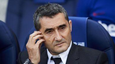 Photo of الظهور الأخير لمدرب برشلونة السابق إرنستو فالفيردي لتوديع اللاعبين