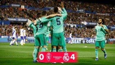 Photo of بالدرجات.. تقييم لاعبي ريال مدريد في الفوز على ريال سرقسطة