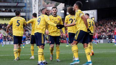 الدوري الإنجليزي| أرسنال يكتفى بالتعادل أمام كريستال بالاس