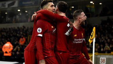 الدوري الإنجليزي  فيرمينو يقود ليفربول لانتزاع فوزا قاتلا أمام ولفرهامبتون