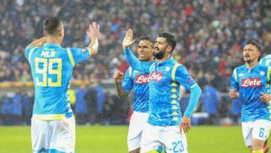 Photo of التشكيل المتوقع لنادي نابولي أمام لاتسيو في كأس إيطاليا