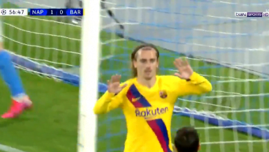 Photo of اهداف مباراة برشلونة ونابولي (1-1) دوري ابطال اوروبا