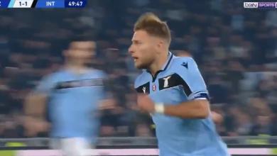 Photo of اهداف مباراة لاتسيو وانتر ميلان (2-1) الدوري الايطالي